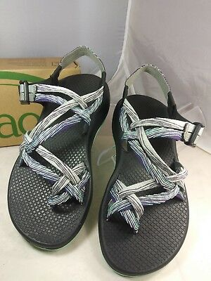 c7454fac9303 Chaco ZX2 Yampa Pixel Multi-Color Toe Loop Strappy Sport Sandals Women Size  7
