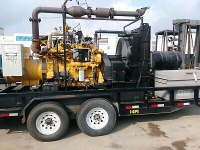 CATERPILLAR NATURAL GAS Power Unit Cat Engine 3306 Only 13 Hours