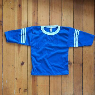 Vintage Hutch Youth Small Made USA Crew Neck Jersey Raglan Tee T shirt NWOT