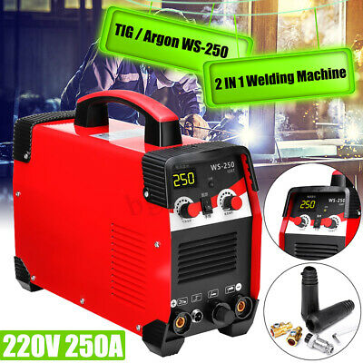 WS-250 2IN1 TIG / Arc Stick LCD Welding Machine Welder MMA IGBT Inverter