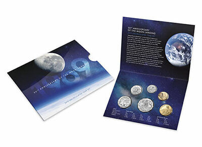 2019 Uncirculated Year Set - 50th Anniversary of the Moon Landing