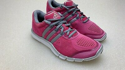 dfaf39bb5cb990 WOMENS ADIDAS ADIPURE Crazy Quick Sneakers Hot Pink Size 6.5 ...