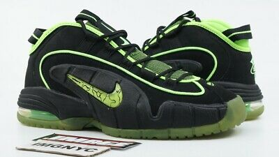 c515afe9cc Nike Air Penny 05 Hoh Used Size 8 Black Electric Green High Ighter 438793  033