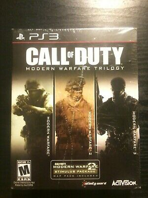 Call Of Duty Modern Warfare Trilogy for Sony PS3, Brand New and Sealed!