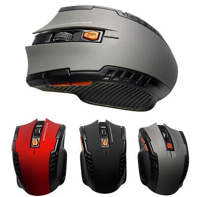 2.4GHz Wireless Optical Cordless Mouse Mice & USB Receive For PC Laptop Computer