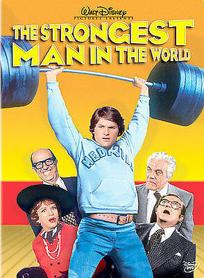 NEW-- DISNEY'S The Strongest Man in the World (DVD, 2004) Kurt Russell
