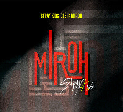 STRAY KIDS - CLE 1 : MIROH (Mini Album Normal ver) CD+PhotoBook+QR Photocard