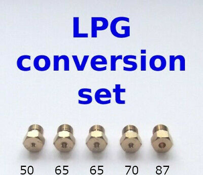 5 LPG Jets Cooker Hob Nozzles For Conversion To LPG Propane Butane G30 G31