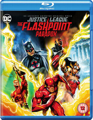 Justice League: The Flashpoint Paradox Blu-ray (2017) Jay Oliva cert 12