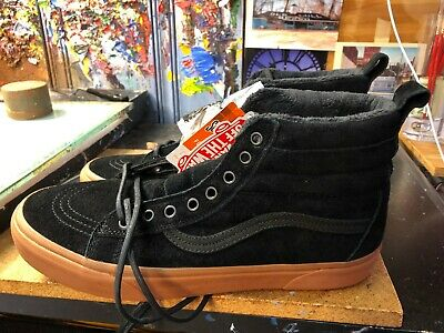 04be56481a074d VANS SK8-HI MTE Black Gum Suede Flannel US 11 Men VN0A33TXGT7 New in ...