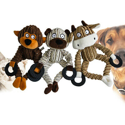 Pet Dog Cat Toy Play Funny Pet Puppy Chew Squeaker Squeaky Plush Sound Toys