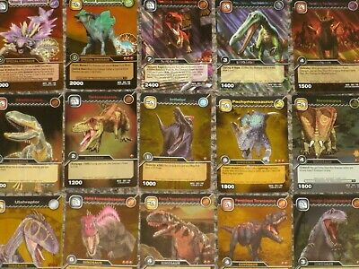 DINOSAUR KING BLACK RAMPAGE TRADING CARDS FOILS /& ULTRA RARE COLOSSALS