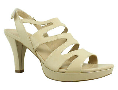 f9811a87b8d LIFESTRIDE WOMENS SEAMLESS Tender Taupe Ankle Strap Heels Size 7 ...
