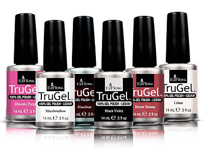 Ezflow Trugel Professional Nail gel Polish 14ml - Core Collection