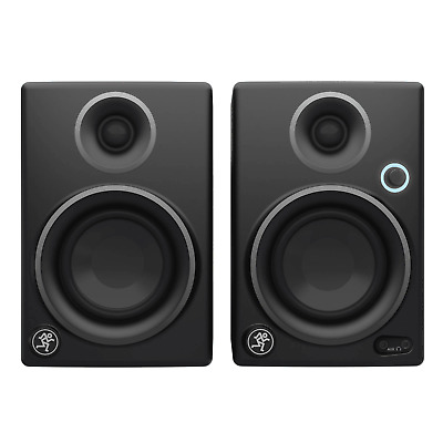 Mackie CR4 Studio Monitors - Limited Edition Silver (Pair) - Free UK Delivery