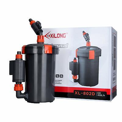 Aquarium External Filter for Fish Tank Pond Pump 400L/H 800L/H