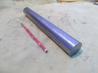 """304 / 304L STAINLESS STEEL ROD tool die shop shaft bar round stock 1 1/2"""" x 12"""""""