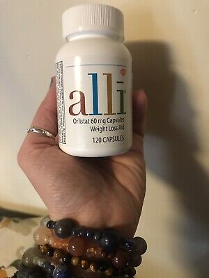 alli Diet Pills for Weight Loss, Orlistat 60 mg Capsules,120 count