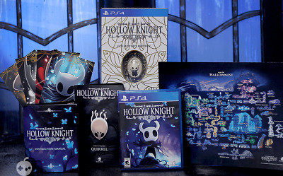 Preorder Hollow Knight Collector's Edition PS4 [Playstation 4] New and Sealed