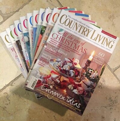 Country Living Magazines - 2011
