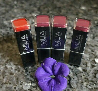 MUA Make up academy color intense or high shine lipstick select your shade