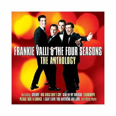 Frankie Valli and the Four Seasons : The Anthology CD 2 discs (2013) ***NEW***