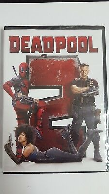 Deadpool 2 (DVD, 2018) Ryan Reynolds, Josh Brolin, Morena Baccarin