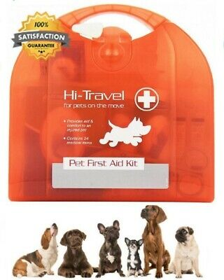 Dog Cat Vet First Aid Hi Travel Accessory Kit for Pets Perfect for Emergencies
