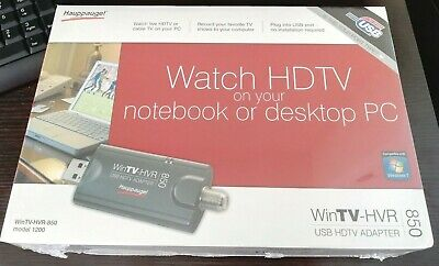 DOWNLOAD DRIVER: WINTV HVR-850