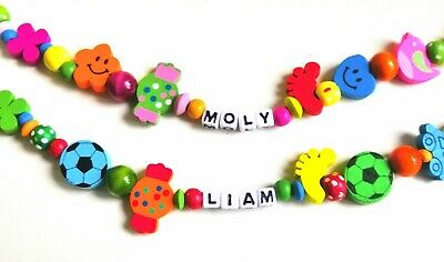 Personalized wooden Dummy/Soother/Pacifier clip holder/Strap