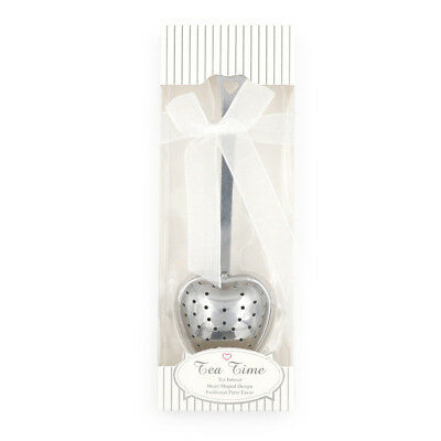Heart Design Spoon Tea Infuser Filter Souvenir Wedding Party Favor Gift Decor Kd