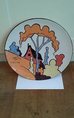 "Lorna Bailey Rare "" Chetwynd"" Charger Early (Original)"