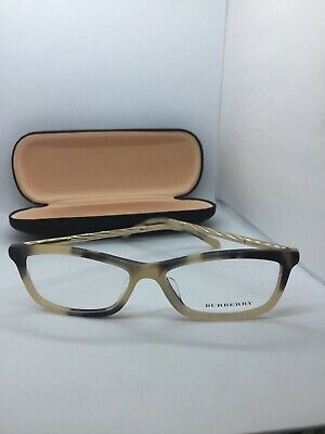 c03b4f9769d NEW BURBERRY B 2190 3501 Havana Eyeglasses Authentic Frame B2190 54 ...