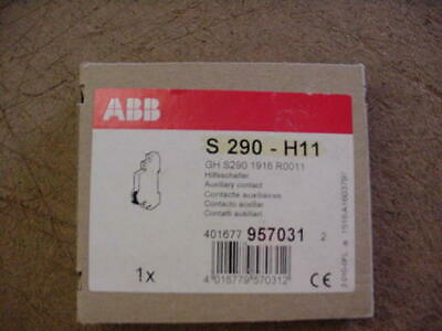 New ABB T&B S290-H11 S290 Aux Contact