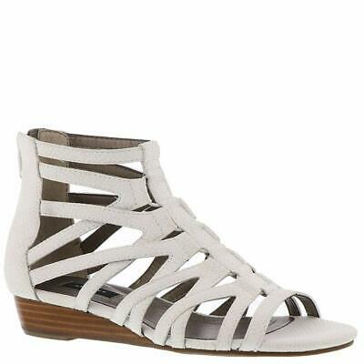 293072280eabf VERY VOLATILE WOMENS Roman Leather Open Toe Casual Gladiator