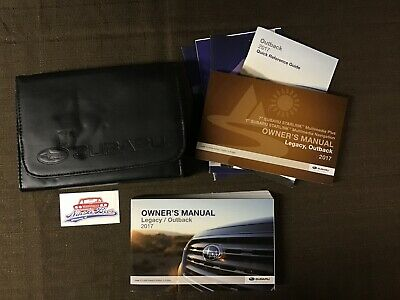 2013 SUBARU LEGACY / Outback Owners Manual Book Set with