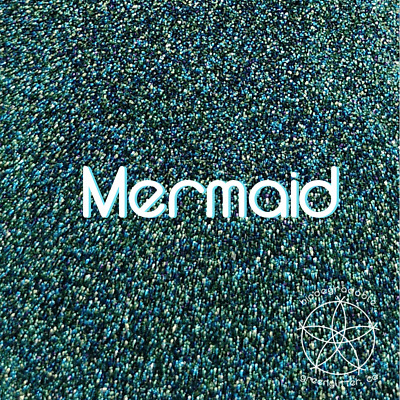 Biodegradable Fine Glitter Mermaid | Green Blended Glitter