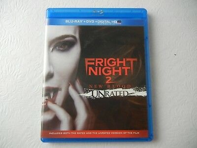 Fright Night 2: New Blood Blu-ray/DVD 2 Disc Set Unrated