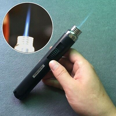 Protable Jet Pencil Torch Butane Gas Lighter for Camping Cigarette Cigar Outdoor