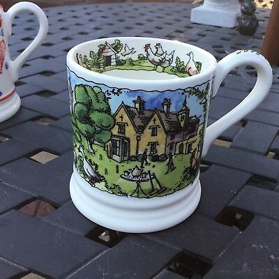 Emma Bridgewater Black Labradors Year In Country 0.5 Mug Best New Discontinued