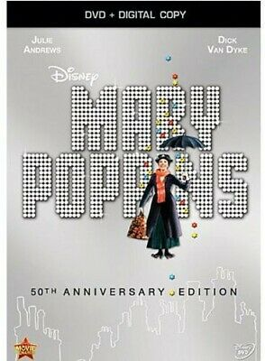 Mary Poppins [50th Anniversary Edition] [Includes Digital  (REGION 1 DVD New) WS