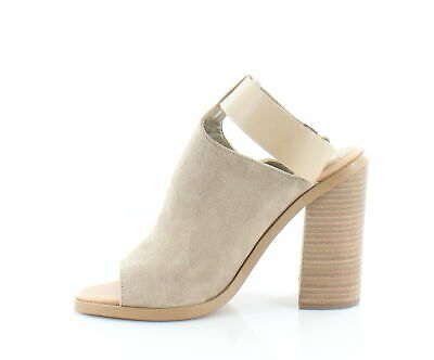 d1a181a27dc MARC FISHER WOMENS Vashi Leather Open Toe Casual Ankle Strap