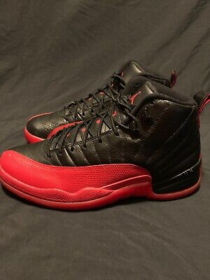 "reputable site 880d5 54ab2 Nike Air Jordan 12 XII Retro ""Flu Game"" 2016 130690-002 Size 10.5"