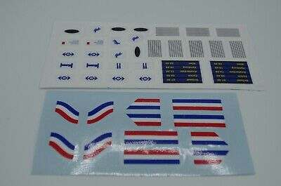 Custom Replacement Stickers for Lego Metroliner & Club Car 10001 10002 4547 4558