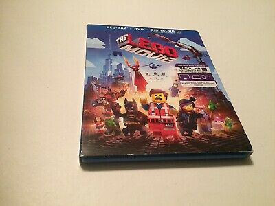 The LEGO Movie (Blu-ray/DVD, 2014, 2-Disc Set) Includes Slipcover