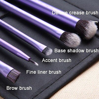 Pro Real Techniques Makeup Brush Foundation Powder Eyeshadow Eyeliner Lip Tools