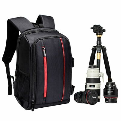 Outdoor Waterproof Large DSLR Camera Backpack Compact Travel Bag for Canon Nikon