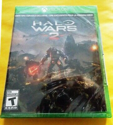 Halo Wars 2 (Microsoft Xbox One, 2017) Brand New! Authentic! Factory Sealed!