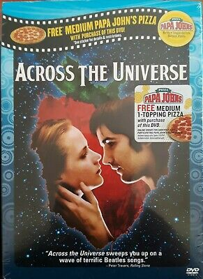 """""""Across the Universe"""" DVD Brand New  Factory Sealed The Beatles Music R1 CC"""