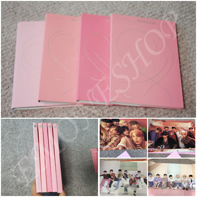 BTS MAP OF THE SOUL : PERSONA Album CD+Photo Book+Poster+Benefits+Tracking No.